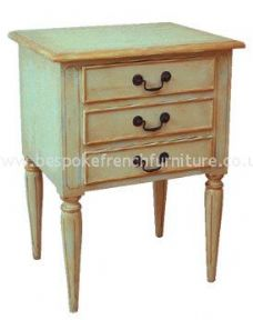 Regency 3 Drawer Bedside